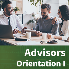 New - Advisors Orientation I