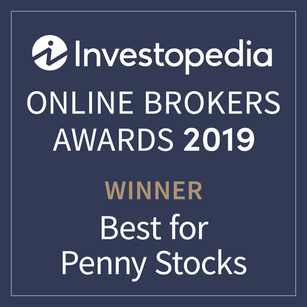 Award Investopedia Best for Penny Stocks