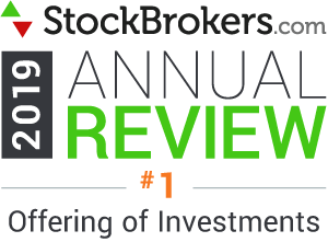 stockbroker.coms 2019 best in class offering of investments