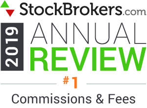 stockbrokers.com 2019 best in class commissions and fees