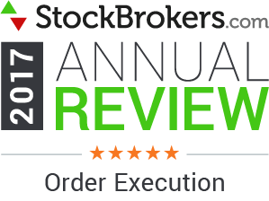 Interactive Brokers reviews: 2017 Stockbrokers.com Awards - 5 Stars - Order Execution